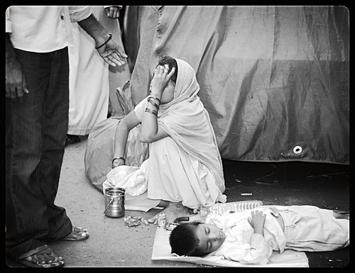 Mama I Am Dreaming Says The Little Boy To His Blind Mother by firoze shakir photographerno1