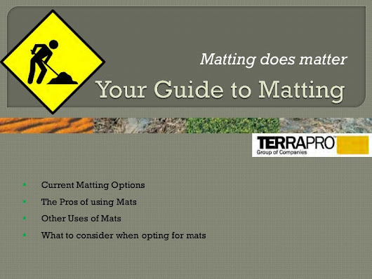 Access mats-options-to-consider-terra pro-group