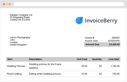 Invoice Software for Small Business | InvoiceBerry