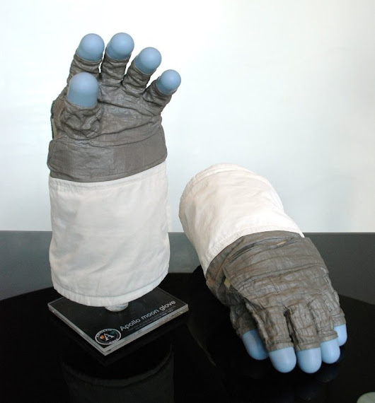 The Apollo EVA Lunar Glove Replica - Moon & Space