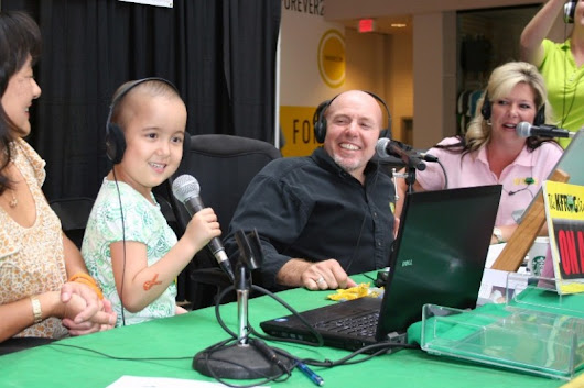 Click here to support K-Froggers for Kids Radiothon by Tiffany Hoekstra