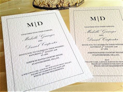 Wedding Invitations from 60p. Cheap wedding invites with