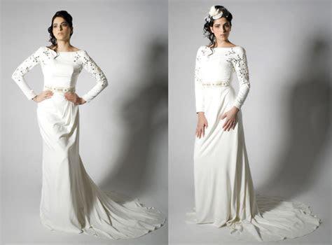 Bridal trends ? long sleeve wedding dresses are back