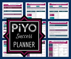 review piyo meal plan diet  weight loss  printables