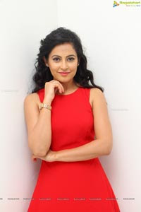 Disha Pandey Red Dress