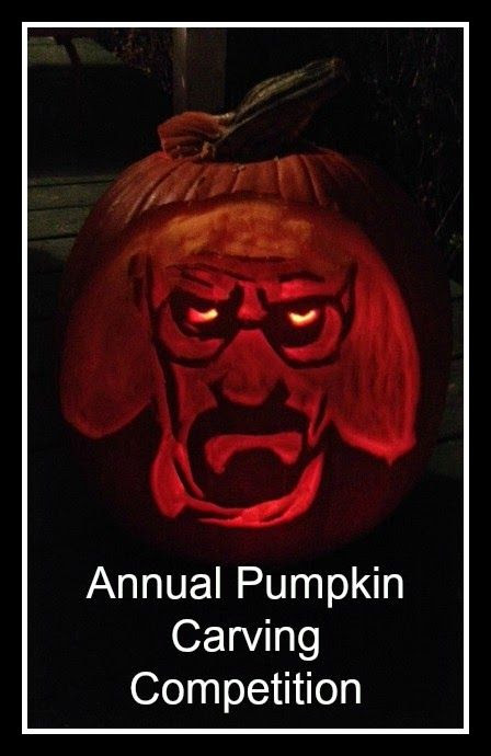 Annual Pumpkin Carving Competition #pumpkincarving #halloween