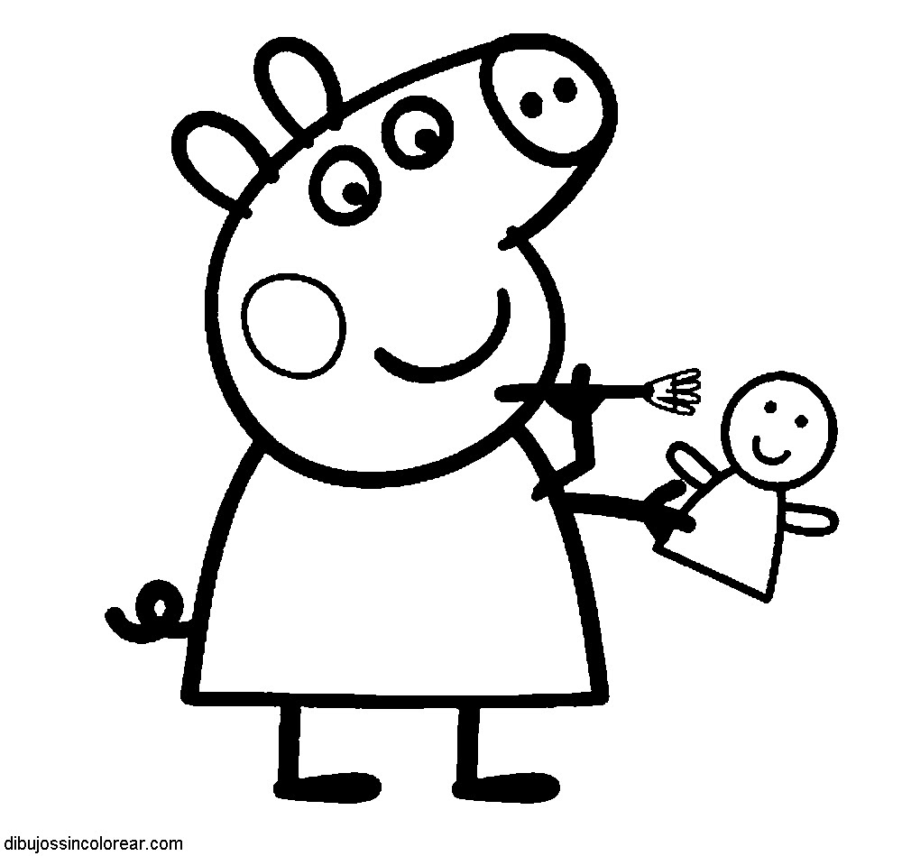 Peppa Pig Para Colorear Club Peque Club Peque