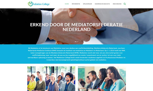 Website Mediation College - Webdesign Alkmaar | 072DESIGN