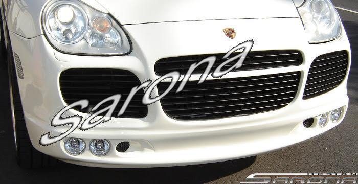 Custom Porsche Cayenne Front Bumper Sarona