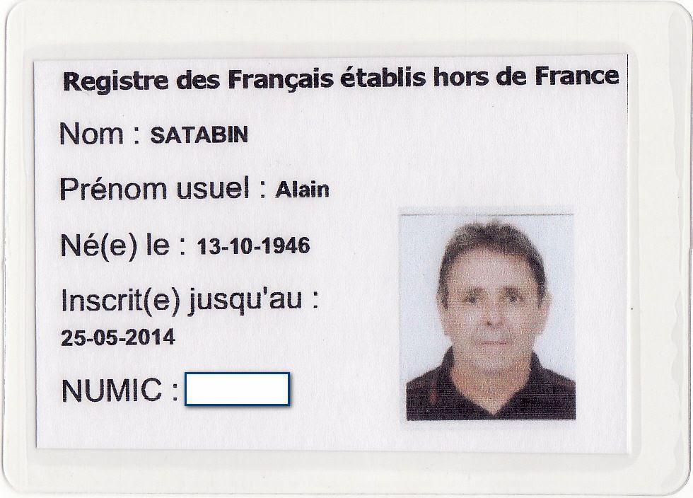Carte Consulaire Carte