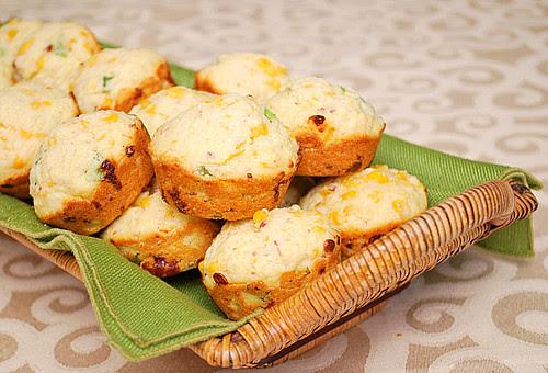 Loaded Cornbread Muffins