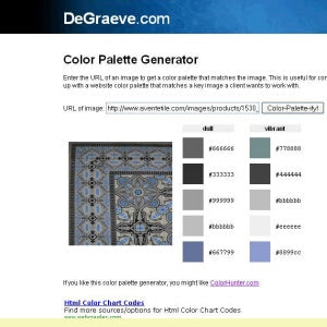 Color Palette for Cuban Heritage Design 110 2B