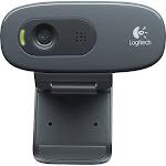 Logitech - HD Webcam C270 - Black