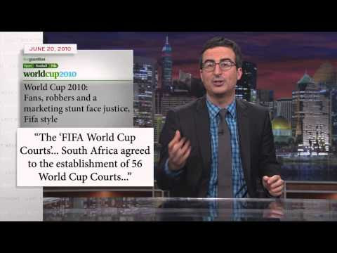 The FIFA World Cup isn't feeding the poor