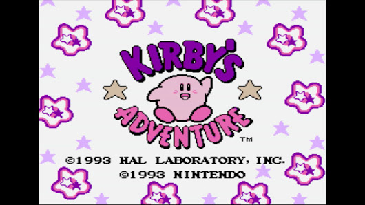 And Presto, It's Kirby! - Kirby's Adventure