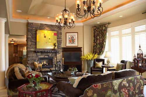 Contemporary Minnetonka Home contemporary living room