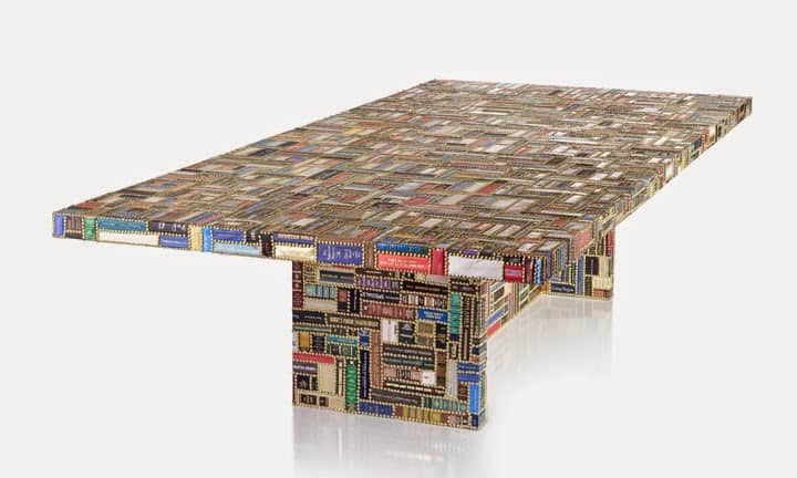 upcycled furniture american spinless coffee table