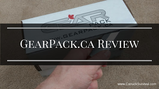 GearPack.ca Review - Canuck Survival