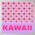 Mega Kawaii Sweetest Pattern Giant Poster print