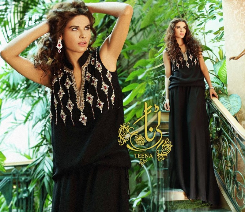 Womens-Girl-New-Fashion-Summer-Spring-Casual-Formal-Party-Wear-Suits-Teena-by-Hina-Butt-1