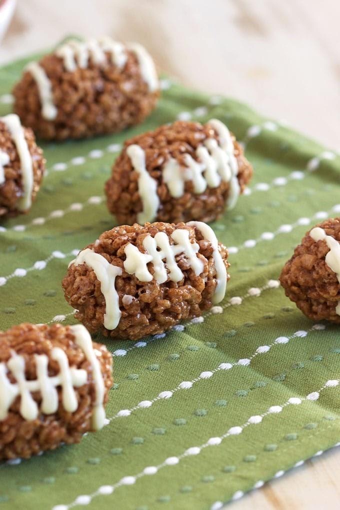 Get Rice Krispie Footballs Pics