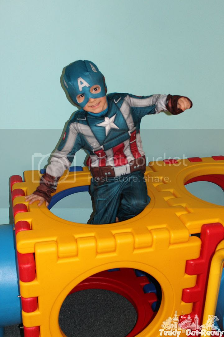 Captain America Teddy