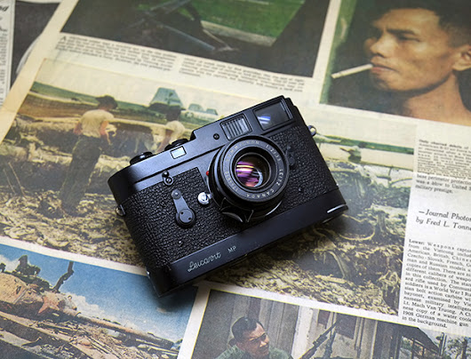 The Fred L. Tonne Black paint Leica M2 - Japan Camera Hunter