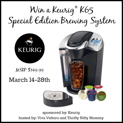 Ends 3/28 - Keurig® K65 Special Edition Brewing System Giveaway - Open US 18+