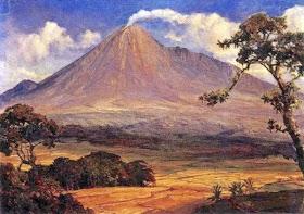 Gambar Pemandangan Gunung Berapi