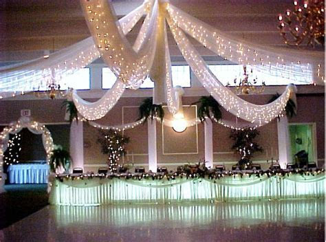 Canopy & lights dance floor decor   The Future Mr & Mrs