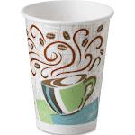 Dixie Hot Cups Paper 12oz Coffee Dreams