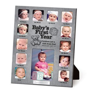 12 Month Baby Picture Frame Template Elitamydearestco