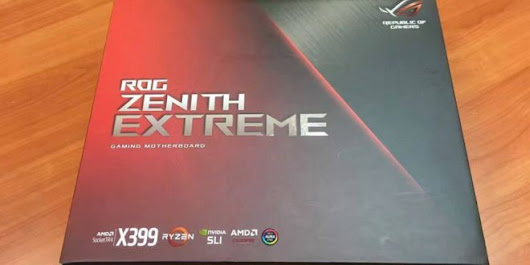 ASUS X399 ROG Zenith Extreme for AMD ThreadRipper CPU: Unboxing Images - Technology News & Reviews For Smart Phones, Tablets, Laptops, T.v - TECHTOYREVIEWS