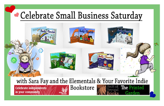 Celebrate Small Business Saturday with Sara Fay & Your Favorite Independent Bookstore!