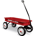 Radio Flyer - Classic red wagon