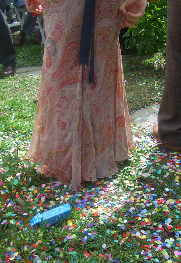 confetti / dress