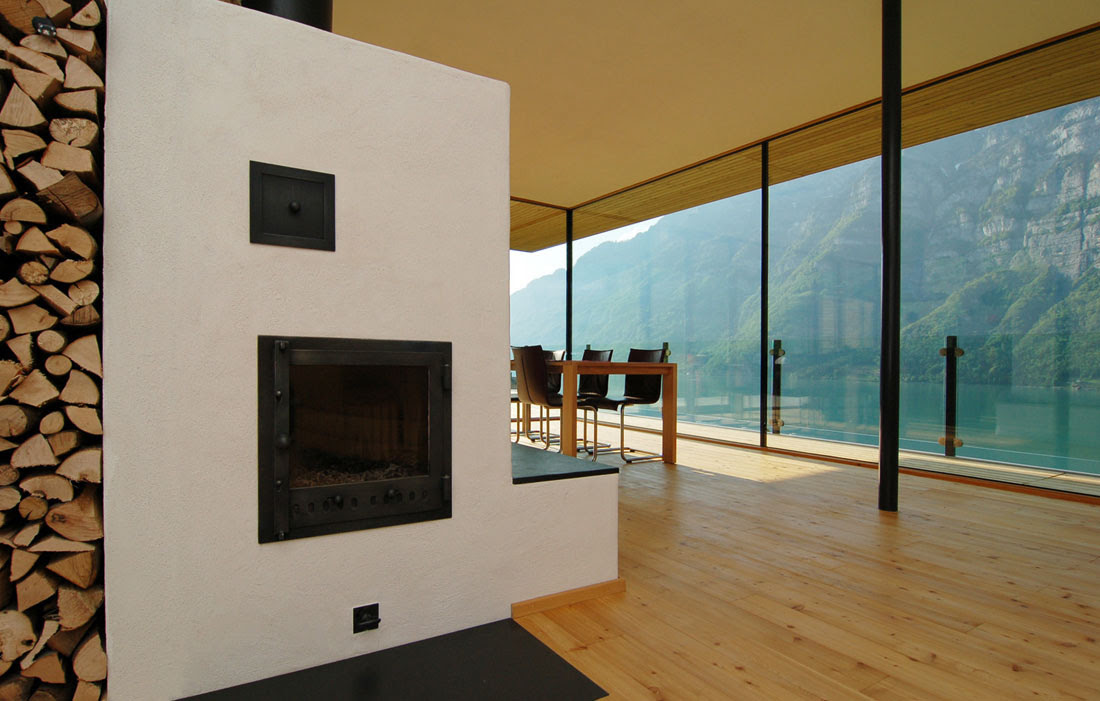 Modern House By The Lake In Switzerland iDesignArch Interior Design, Architecture Interior - FabModula:Interior Designers BangaloreBest Interior Design