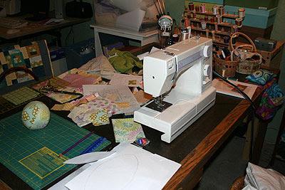 Craft Room Mess
