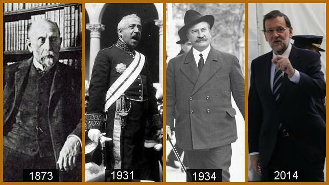 Figueres, Zamora, Lerroux y Rajoy: presidentes contra el desafío independentista