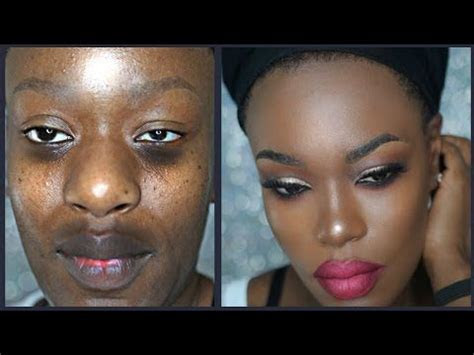 light makeup tutorial for dark skinned