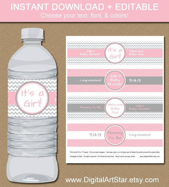 1000+ images about Water Bottle labels on Pinterest | Beach ...