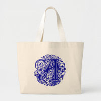 "Monarchia Blue ""A"" Bag"