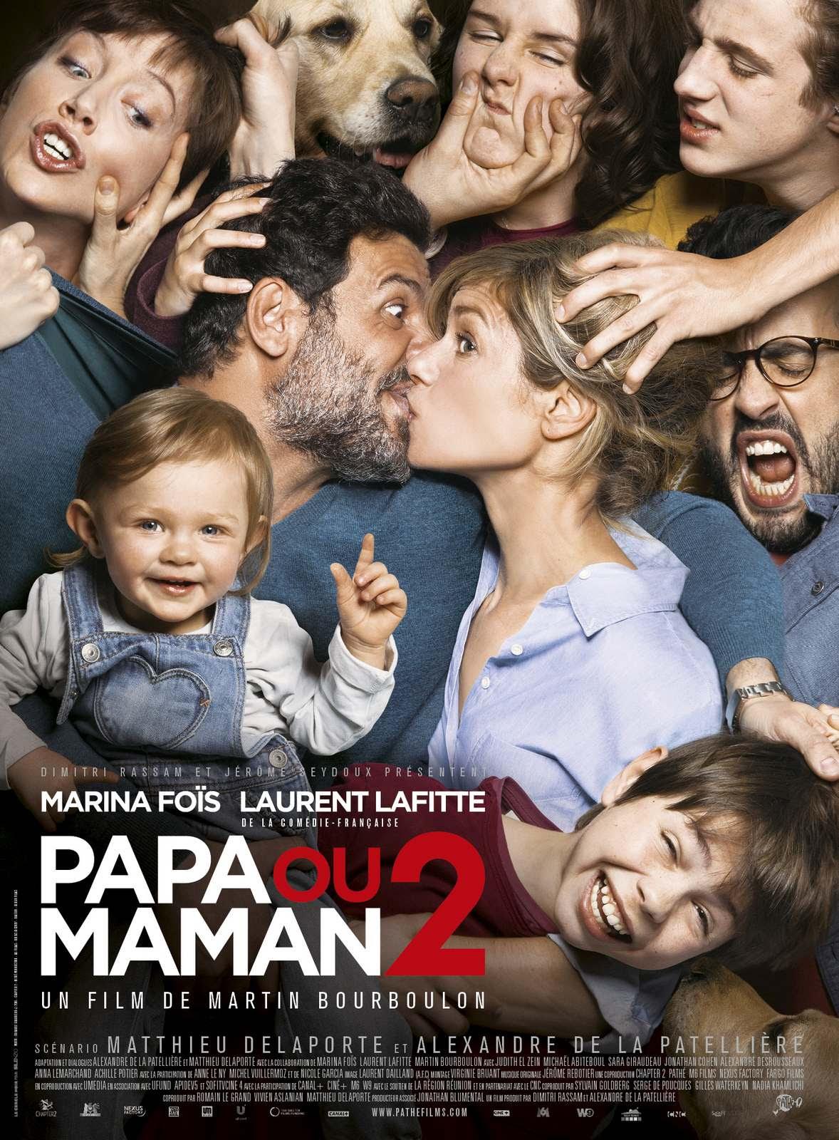 Resultado de imagem para Papa ou Maman 2