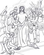 Décima Estación: Jesús es Despojado de sus Vestiduras from Viernes Santo