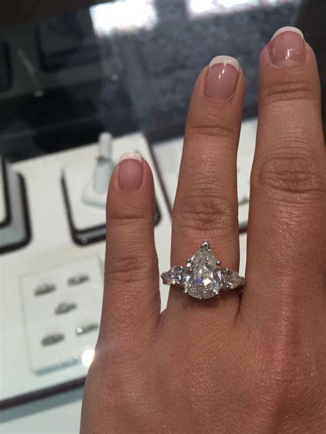 The 25  best Pear engagement rings ideas on Pinterest