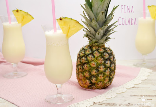 Sommercocktail Pina Colada | Miss Fancy - food & more... | Ü40 Food & Beauty Blog