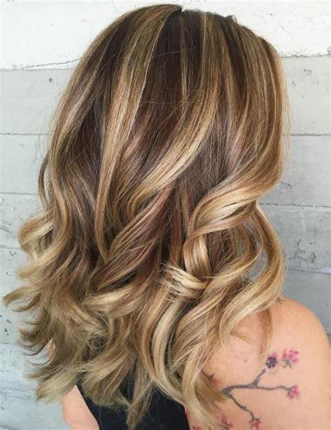 blonde highlights  women   sensational