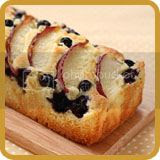 Nectarine and Blueberry Cake