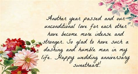 Best Wedding Anniversary Wishes For Husband   Quotes