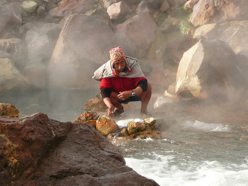 the Chaman near Cusco